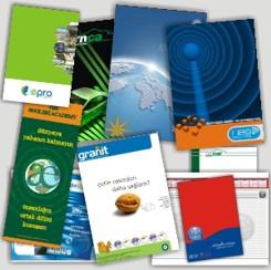 Katalog baskı ve tasarım