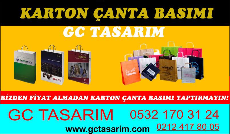 Karton Çanta Basımı