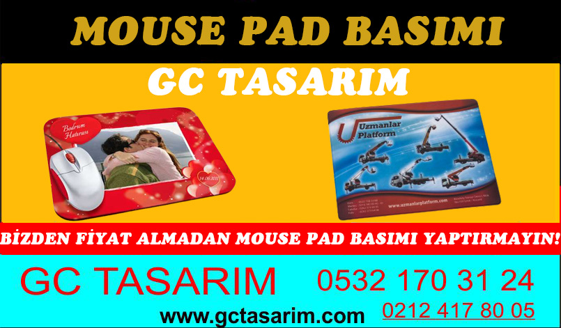 Mouse Pad Basımı
