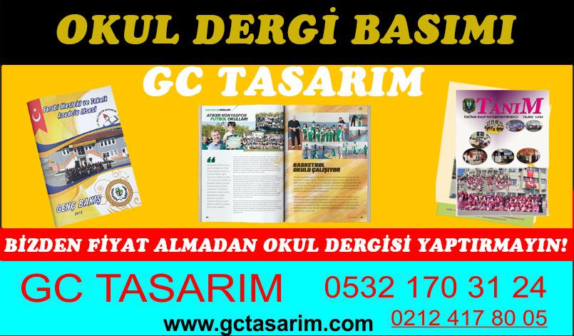 Okul Dergi Basımı