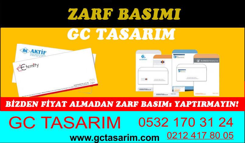 Zarf Basımı